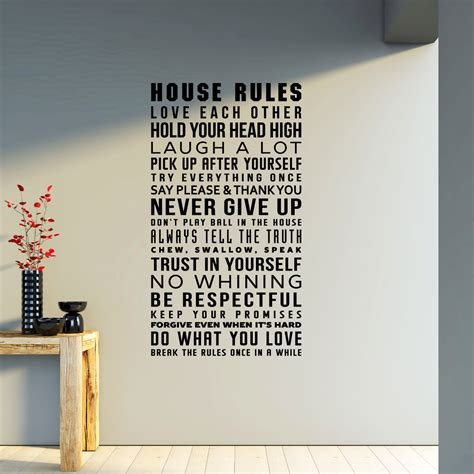 House Rules Design Your Home by House Rules Design 28 Images House Rules Babyart