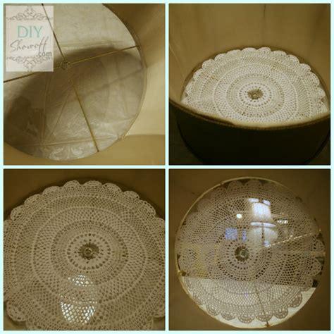 Diy Ceiling Light Shades Diy Ceiling Mount Drum Shade Light Fixture Tutorialdiy