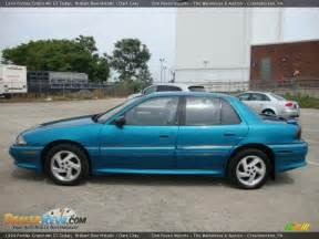 Blue Pontiac Grand Am 1994 Pontiac Grand Am Gt Sedan Brilliant Blue Metallic