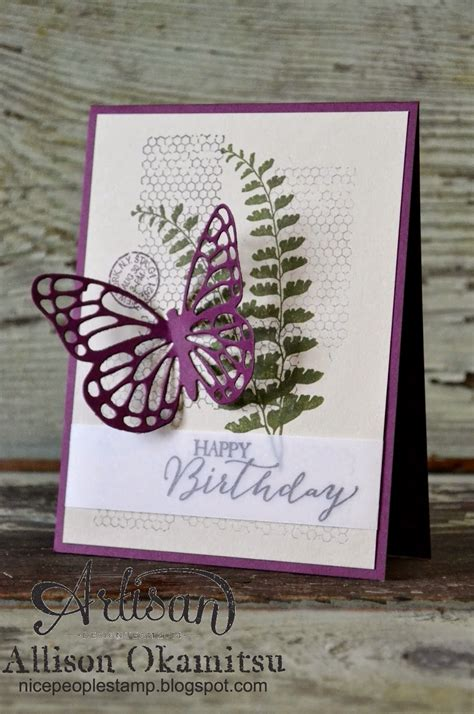 card basics st stin up canada butterfly basics