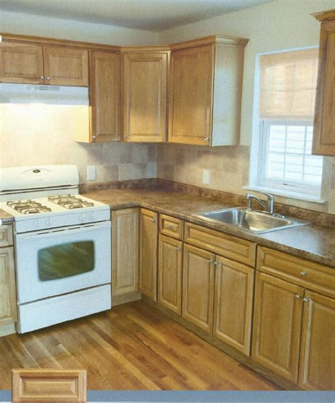 Oak Kitchen Cabinets by Pre Finished Raised Panel Oak Kitchen Cabinets