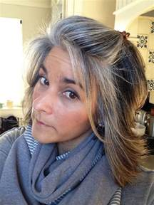 how to blend in gray in hair with low lights 1000 ideas about gray highlights on pinterest gray hair