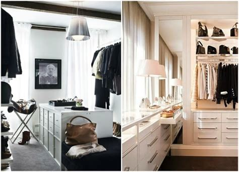 Kris Jenner Closet by Organized Black And White Closets T A N Y E S H A