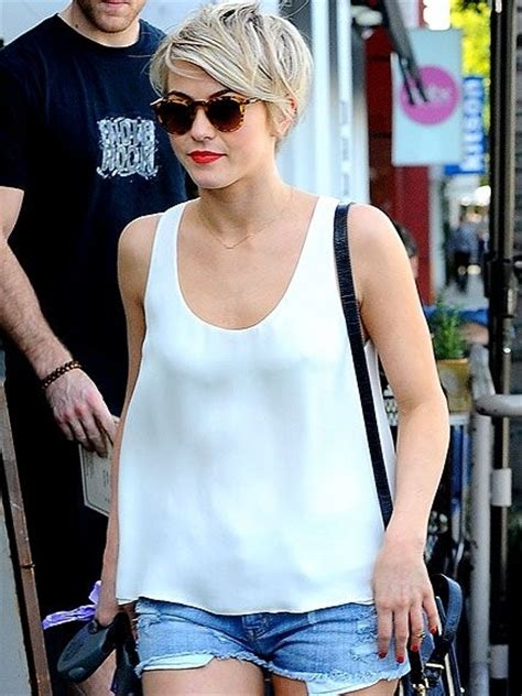 how does julianne hough style her pixie cut 5 asymmetrical pixie 31 perfectly precious pixie cuts