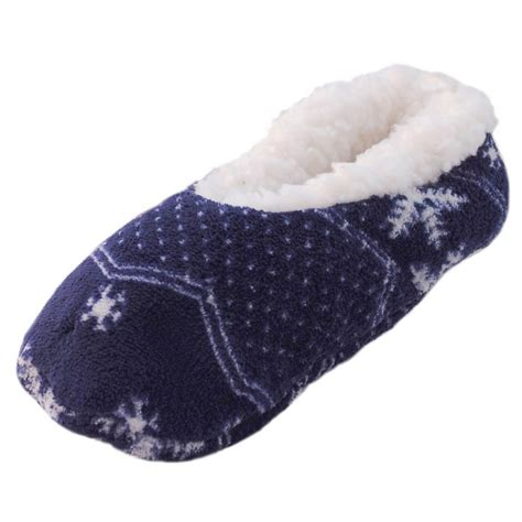 womens soft slippers womens bright pattern soft fluffy fleece lined ballerina