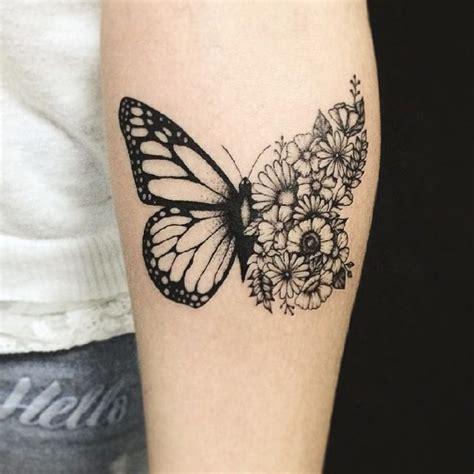 tatuaggi fiori farfalle braccio tatuaggi braccio 50 idee per realizzare il tuo sapevatelo