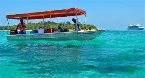 shore excursions carnival cruise line australia cruise - Glass Bottom Boat Vanuatu