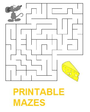 printable cow maze pictures easy kid games best games resource