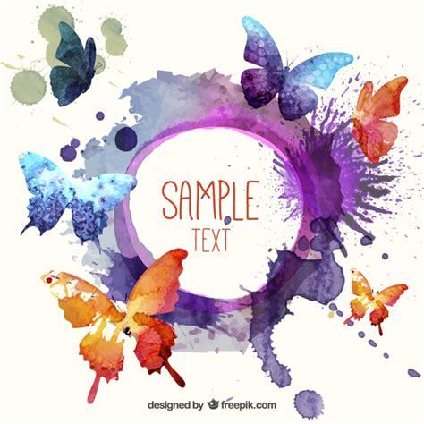 watercolor logo tutorial illustrator illustrator vectors photos and psd files free download