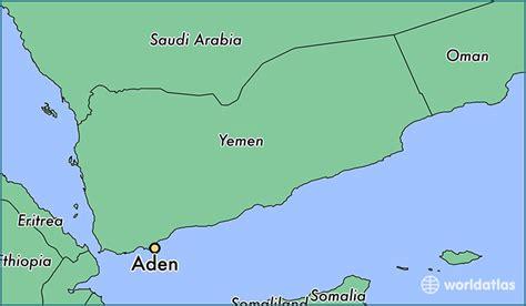 where is aden on the world map where is aden yemen where is aden yemen located in