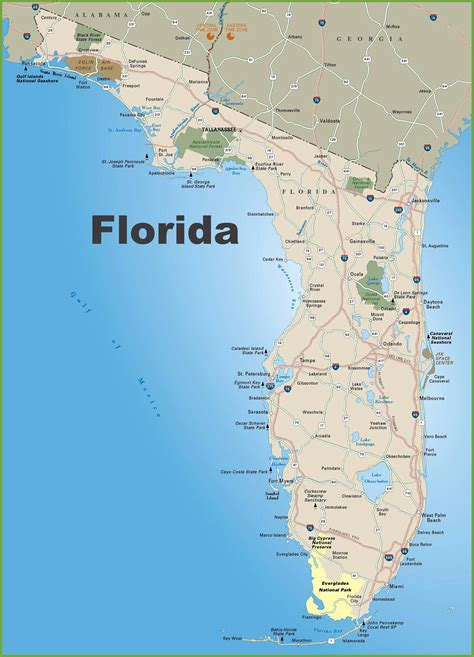Florida Search Free Large Florida Maps For Free And Print High Resolution And Detailed Maps