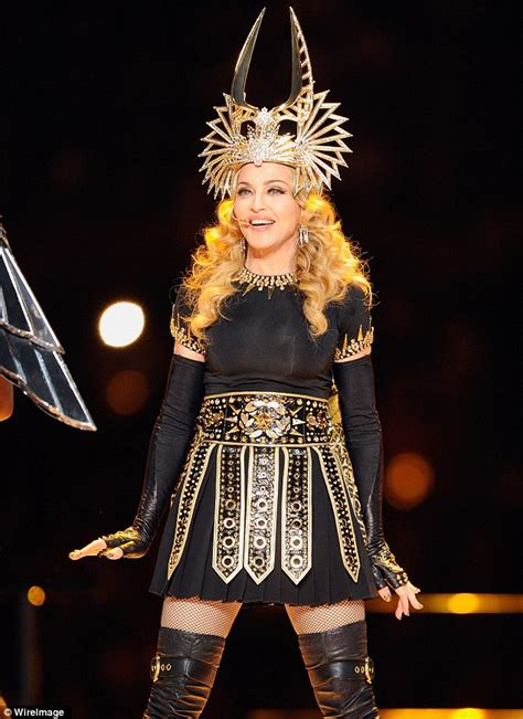 Battle Of The Costumes Madonna Vs Sailor by Katy Perry Dons Reminiscent Of Madonna S Bowl