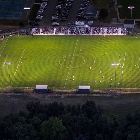 grace college soccer field improvements   electric