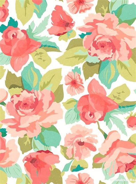 cute pastel pattern background background colors cute drawing floral image 3944231