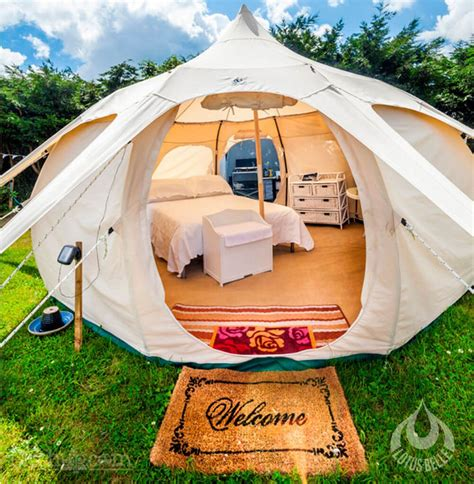 should the tent be burning like that a professional ã s guide to the outdoors books go cing in style with these lotus tents ealuxe
