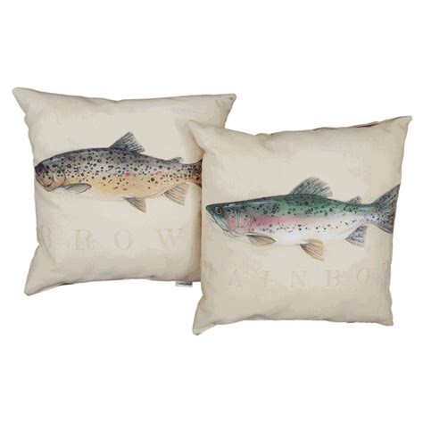 Indoor Outdoor Pillows by Trout Indoor Outdoor Pillows