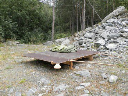 building a tent platform the portable tent platform makes it possible to build a
