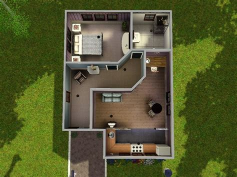 sims 3 starter house plans topaztaylor s modern starter home