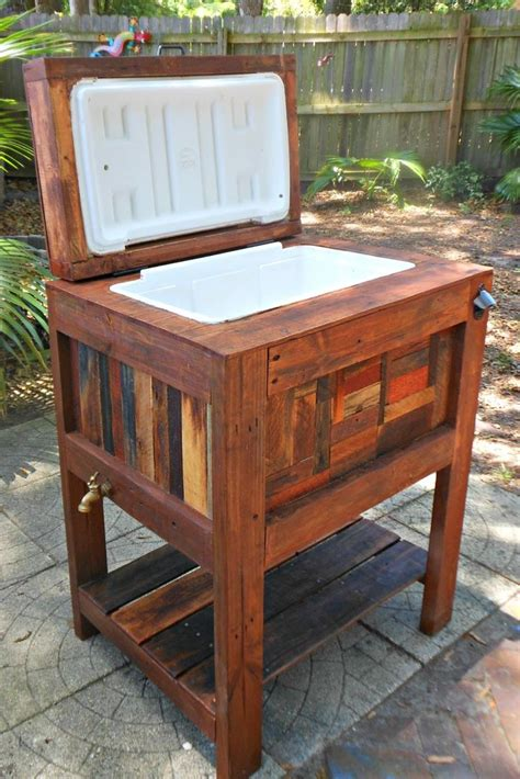 deck cooler diy woodcraft