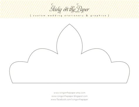 paper crown template printable princess crown template 19 of 20 templates