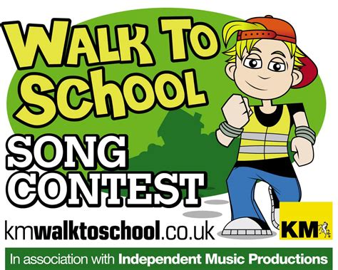walking the song km charity team song contest km charity team