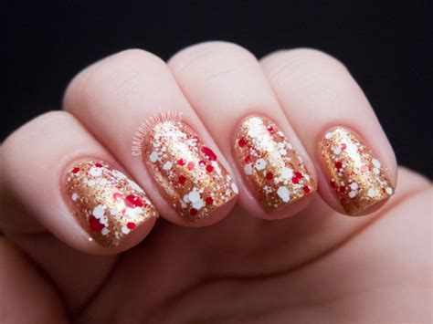Ongle Gel Deco Noel by D 233 Co Ongles No 235 L Et Nouvel An 49 Inspirations Exquises