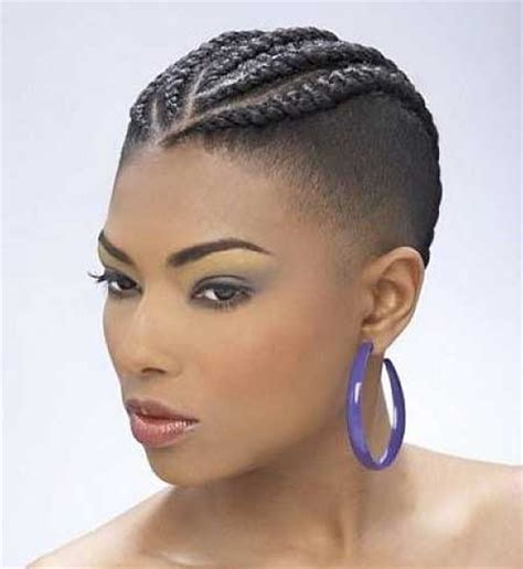 black hair braiding styles for balding hair 20 short braided hairstyle short hairstyles 2017 2018