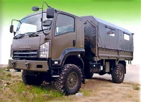 thailand use the nps 4wd version of npr medium truck