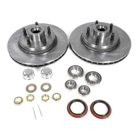 mustang front only 5 lug conversion kit 87 93 lmr