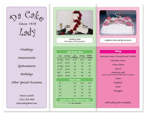 Wedding Fair Brochure by Brochures By Becka Design