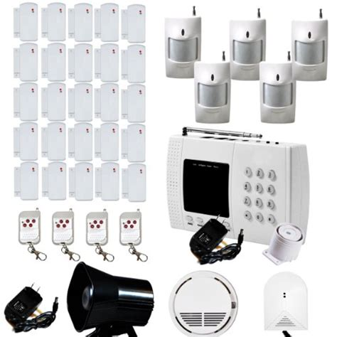 aas 600 wireless home security alarm system pet immune diy
