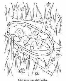 baby moses coloring page baby moses coloring pages coloring home