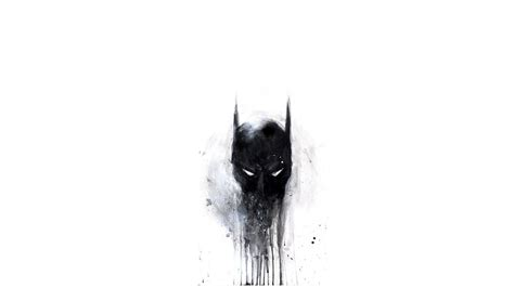 batman wallpaper white batman black and white dc comics minimalism walldevil
