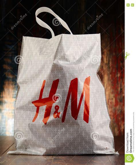 Hm Bag Original original h m plastic shopping bag editorial image image