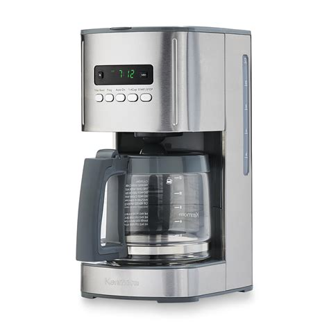 Coffee Maker kenmore 12 cup programmable aroma coffee maker silver
