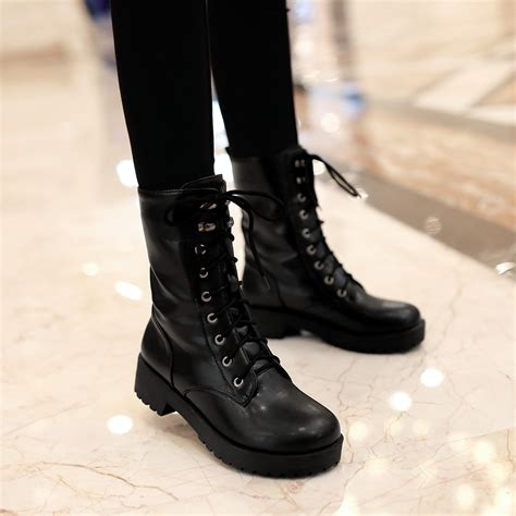 womans combat boots ankle combat boots for yu boots