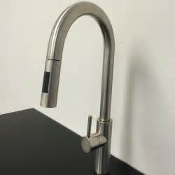 Kitchen Faucets Modern by Goose Shaped Brushed Nichel Kitchen Faucet