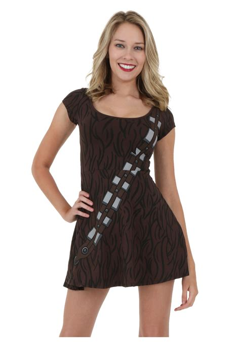 wookie costume wars chewbacca skater dress