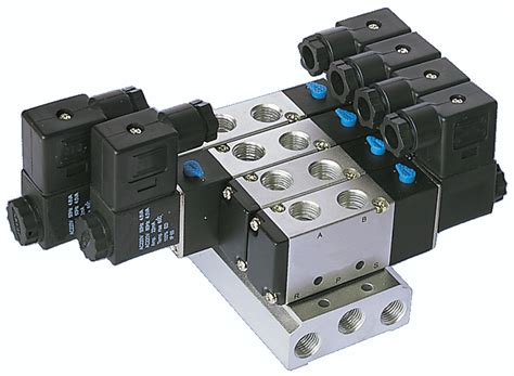 Jual Manifold Valve 5 stcvalve fittings solenoid and pneumatic valves air