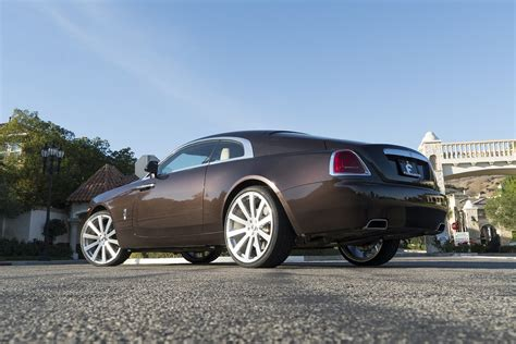 roll royce wraith on rims smoky quartz rolls royce wraith on forgiato rims