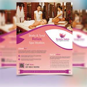 30 best spa and hair salon flyer templates