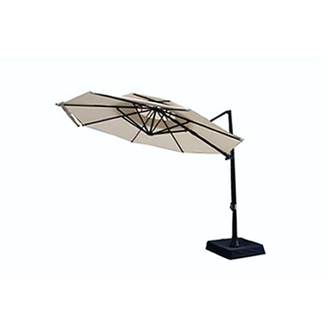 Patio Umbrellas At Lowes Lowes Patio Umbrellas Garden Treasures 9 Ft Octagon Market Umbrella With Crank