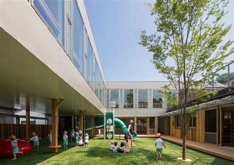 Garden City Nursery School Takeno Nursery Tadashi Suga Architects Archdaily
