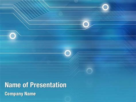 abstract technology powerpoint templates abstract