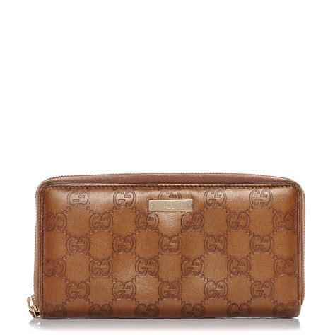 Gucci Wallet Bronze gucci guccissima zip around wallet bronze 184738