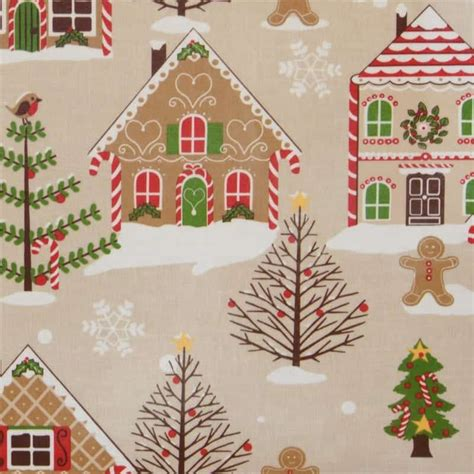 christmas pattern oilcloth the latest news wipe easy tablecloths get organised