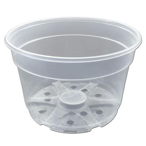 Clear Planter Pots by Clear Plastic Pot 8 Quot