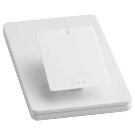 Lutron Tabletop Dimmer by Lutron Pico L Ped1 Wh Single Table Top Pedestal White
