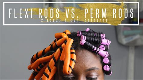 flexi rod vs perm rods perm rods vs flexi rods 4 different curl patterns