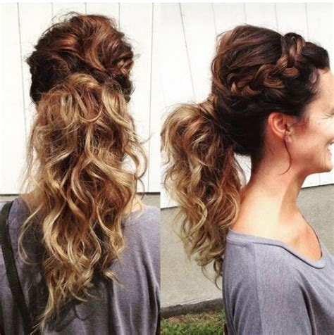 hairstyles for long hair french 15 adorable french braid ponytails for long hair popular